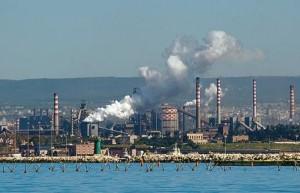 The Ilva works - Taranto