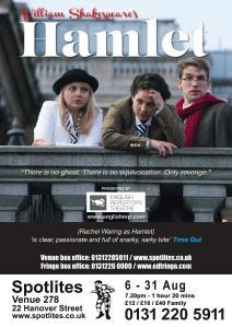 Hamlet Edinburgh Poster