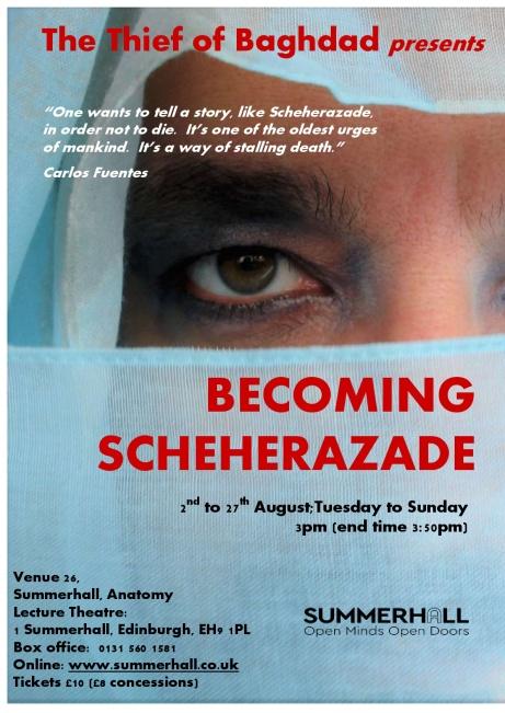 Becoming Scheherazade Edinburgh Draft Poster (5)-001