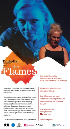 The Flames e-flyer