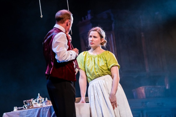 Robin Laing as Jack and Ruby Richardson as Nancy in Perth Theatre's Gaslight credit Mihaela Bodlovic.jpeg