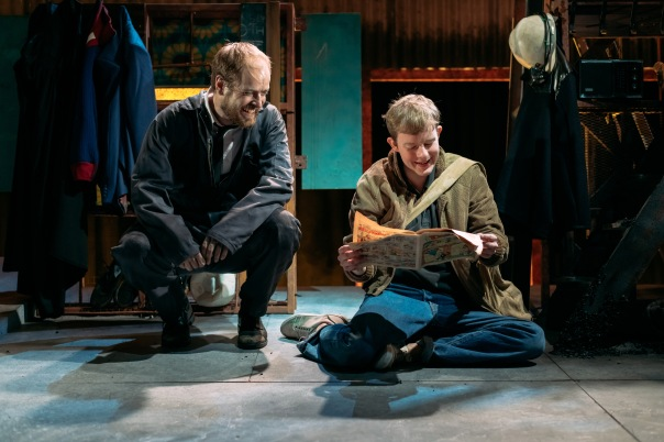 Matthew Barker as Man and Danny Hughes as Billy in Perth Theatre's Kes (2).jpg
