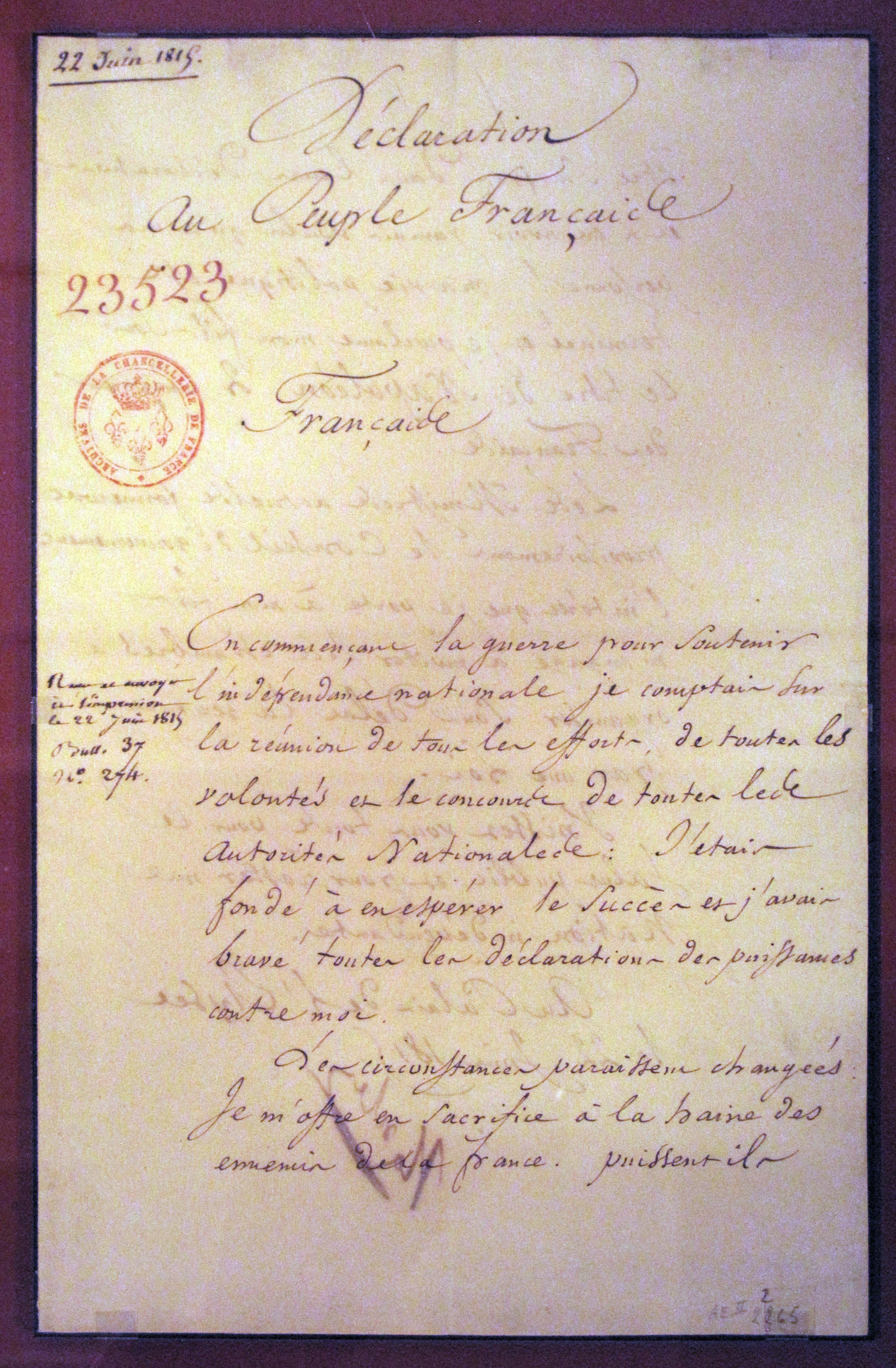 Second_abdication_act_of_Napoleon-IMG_0525.JPG